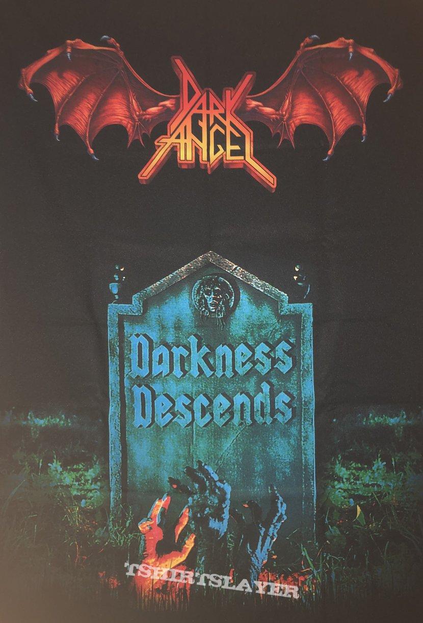 Dark Angel - Darkness Decends Fabric Poster