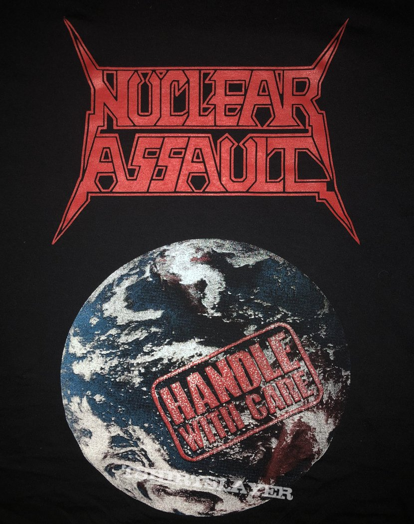 Nuclear Assault - Handle With Care Sweater/Longsleeve Yazbek Tag