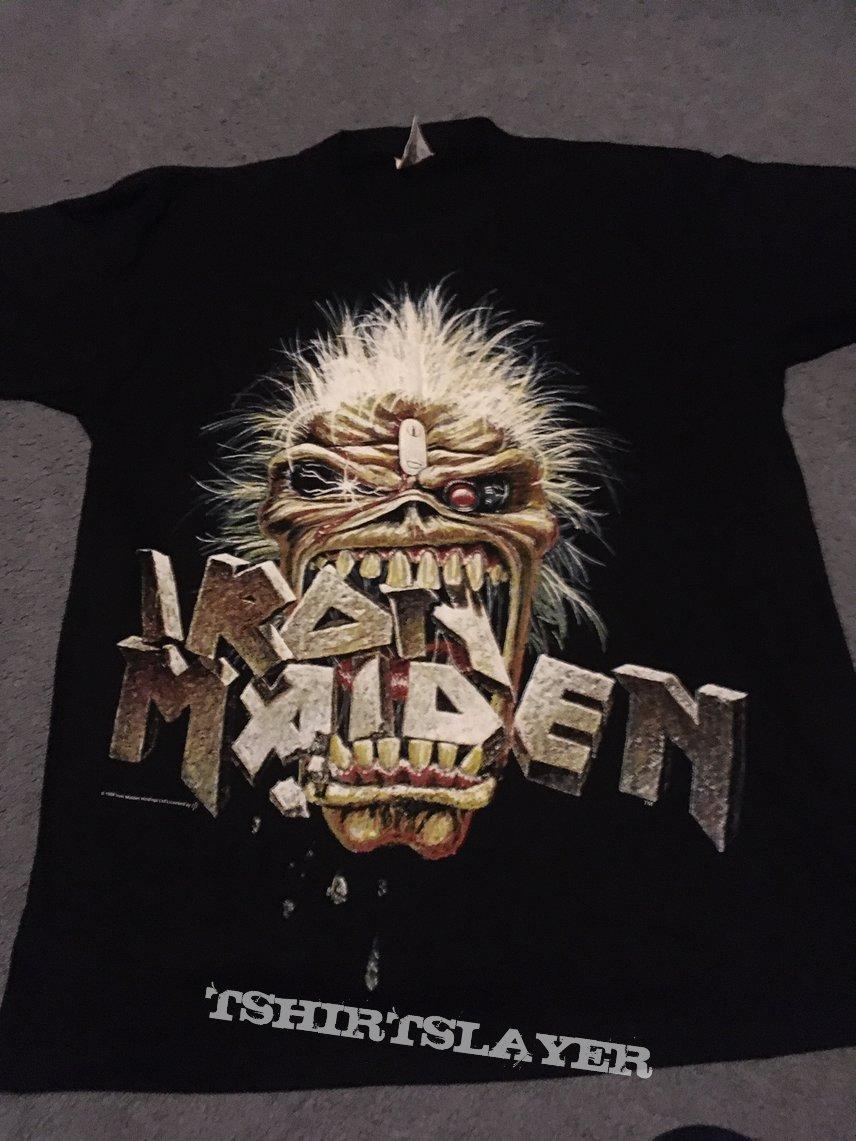 Iron Maiden Eddie crunch original shirt 1988