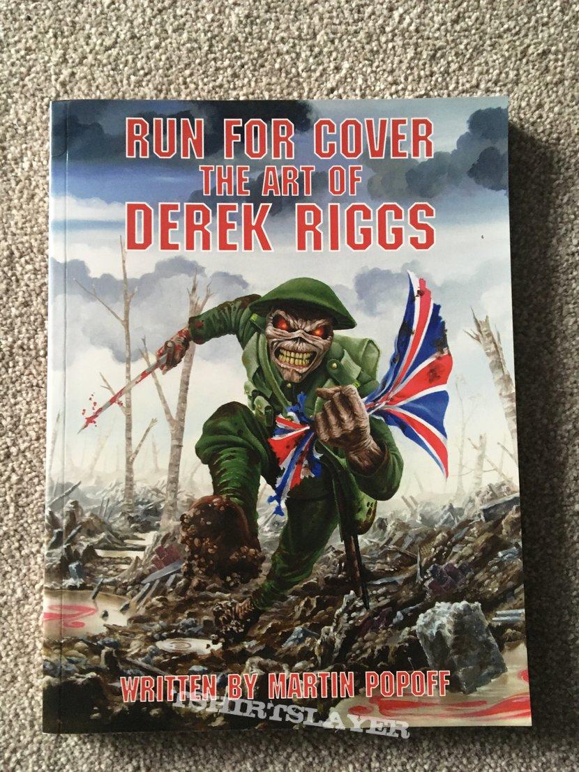 Iron maiden, Run fro cover, The art of Derek Riggs book