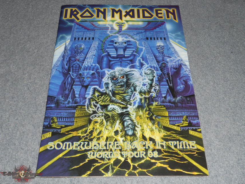 Iron Maiden, Somewhere back in time world tour 2008