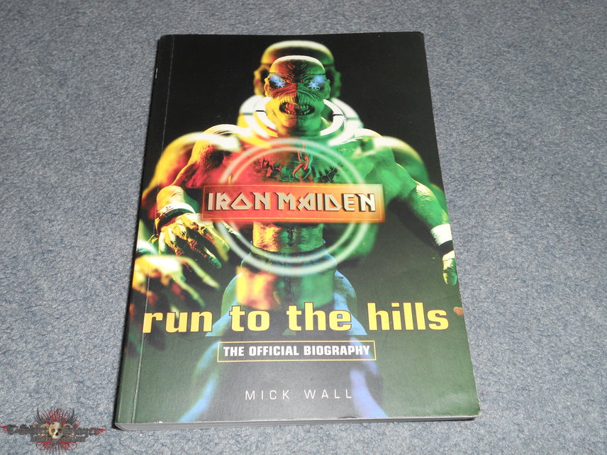 Iron Maiden Run To The Hills biography first edition signed