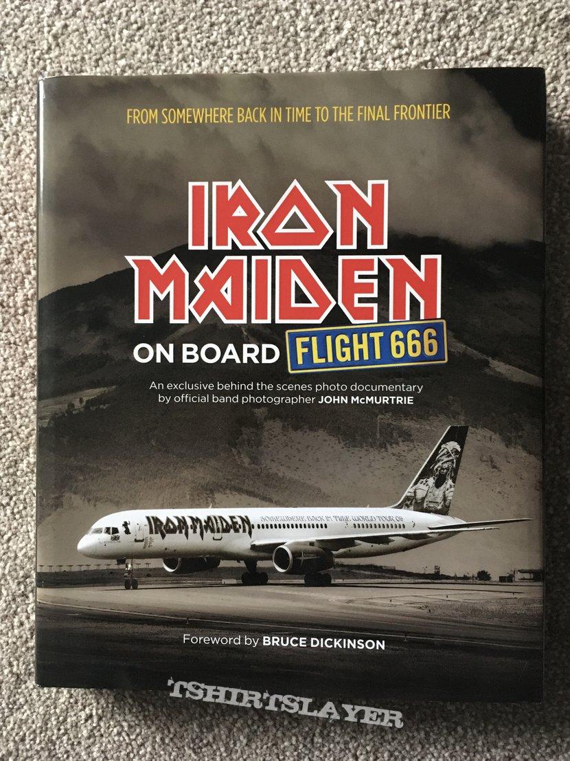 Iron Maiden, On board flight 666