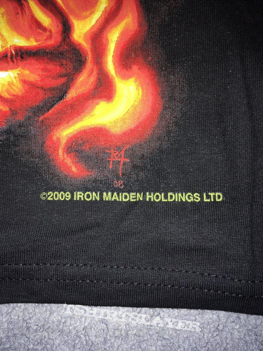 Iron Maiden Fan Club t-shirt 2009