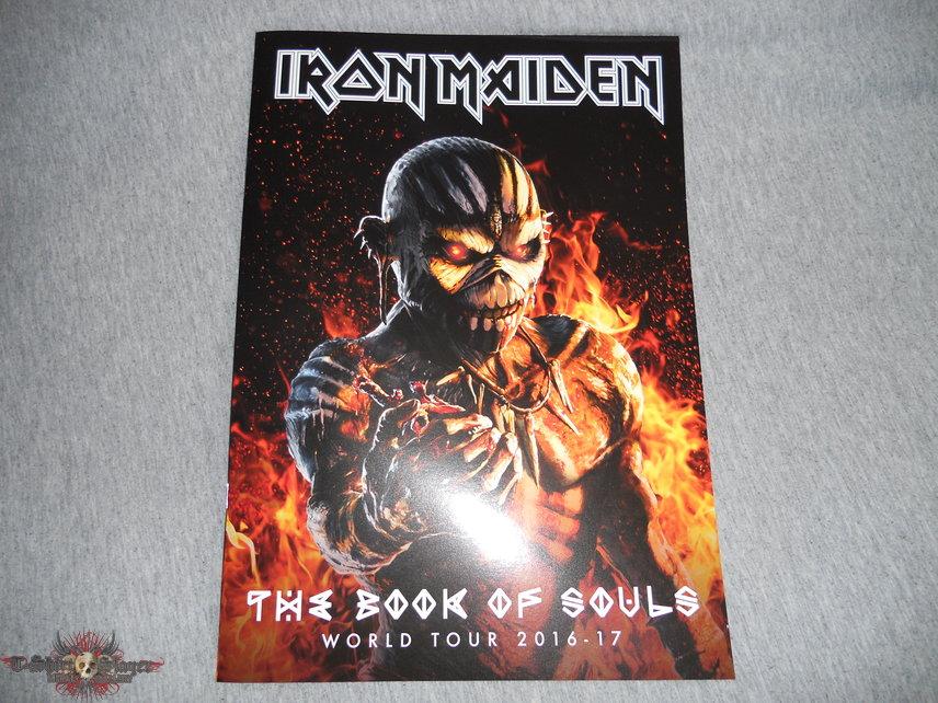 Iron Maiden, The Book Of Souls world tour program