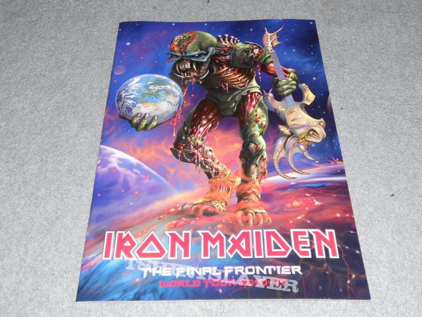 Iron Maiden, The Final Frontier tour program