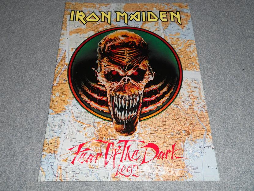 Iron Maiden, Fear Of The Dark tour program