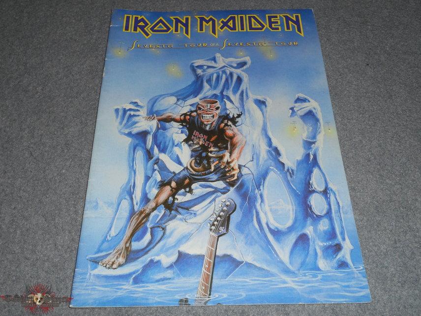 Iron Maiden, Seventh tour US program