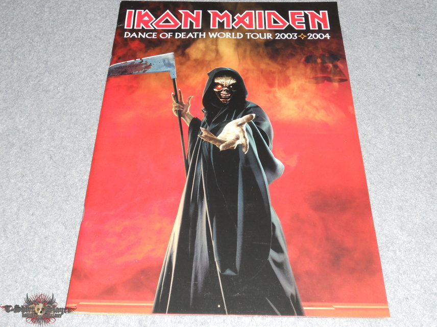 Iron Maiden, Dance Of Death world tour program