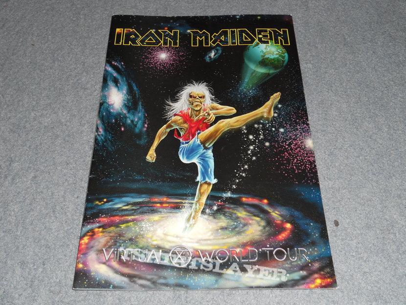 Iron Maiden, Virtual XI world tour program.
