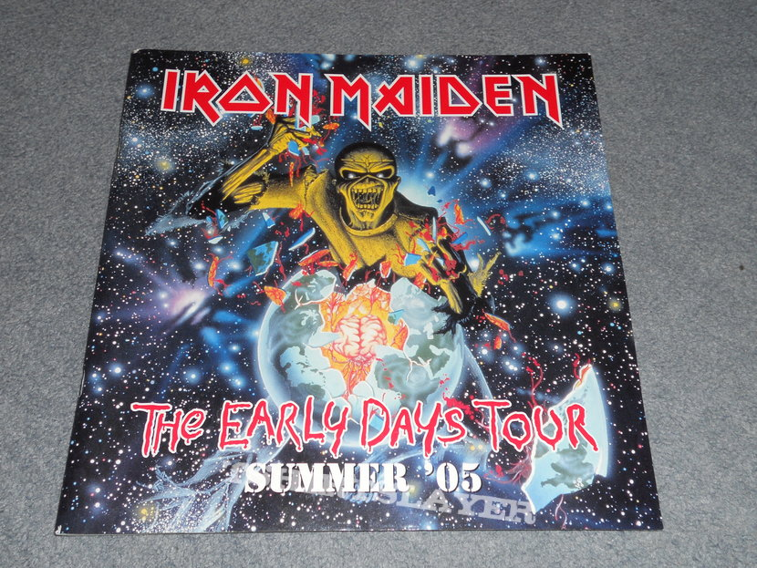 Iron Maiden, The early years tour 2005 program