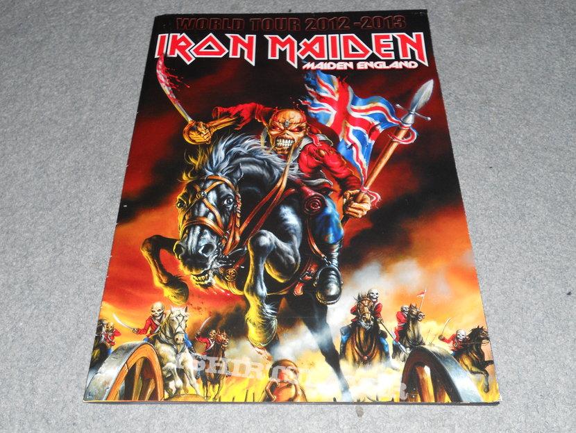 Iron Maiden, Maiden England tour postergram