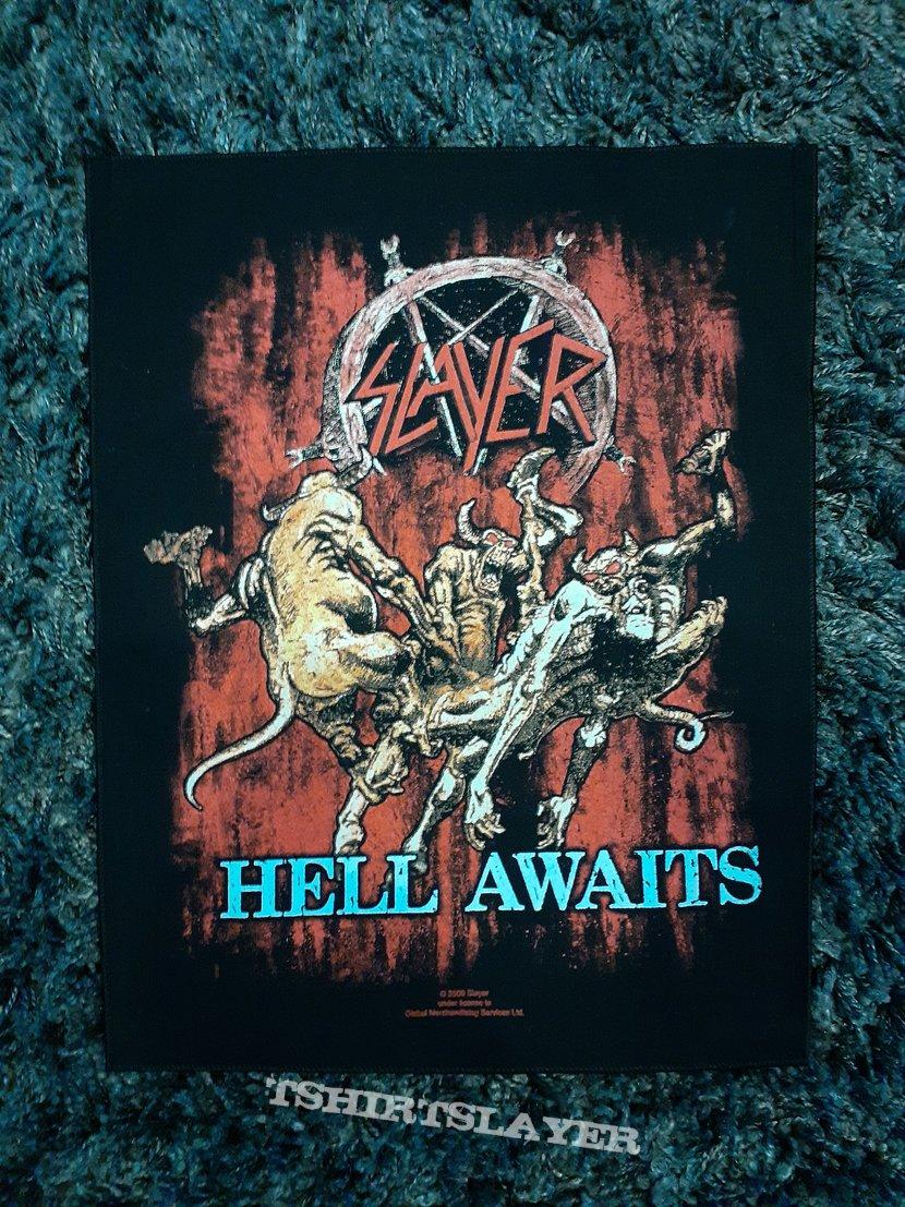 Slayer, Hell Awaits back patch