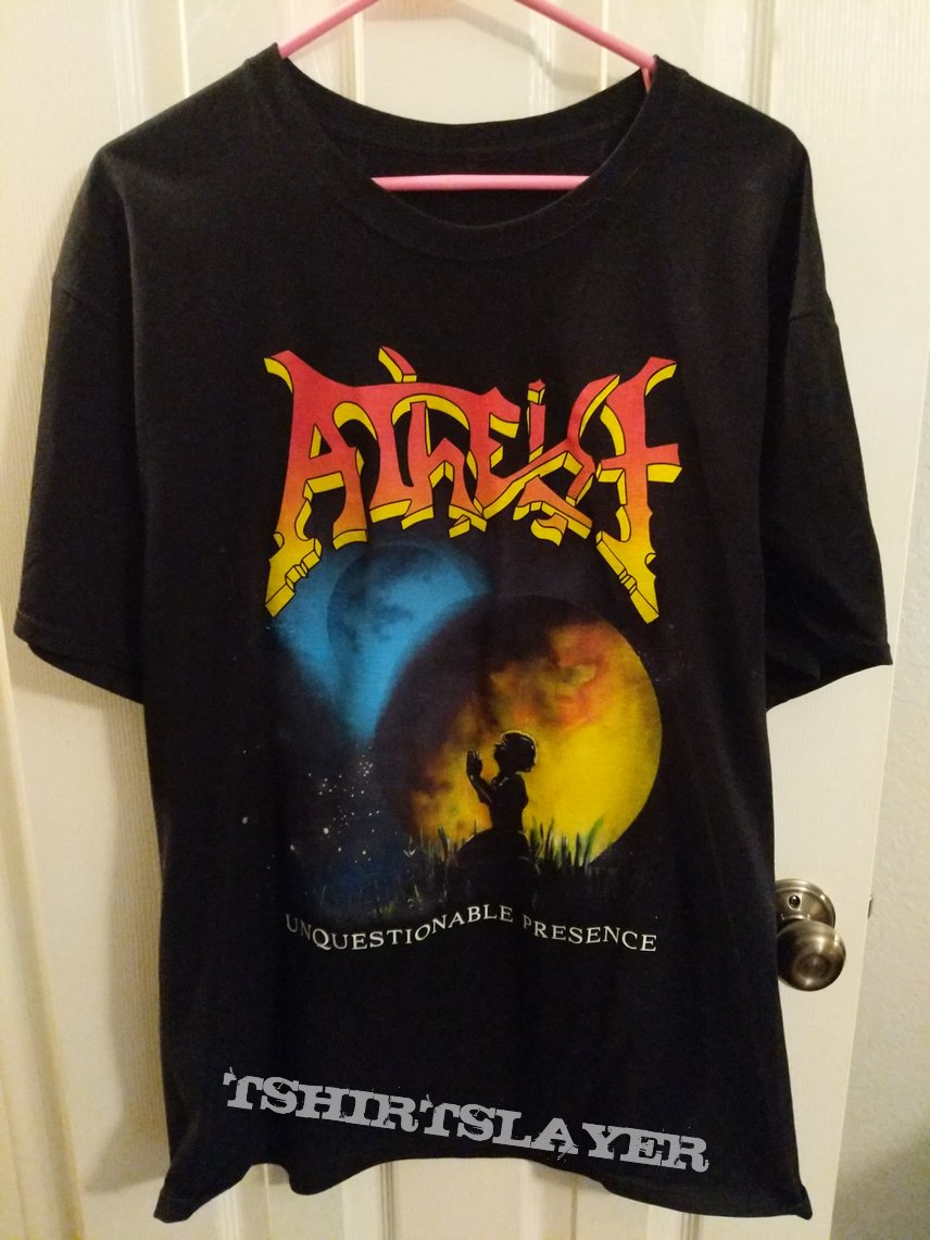 Atheist - Unquestionable Presence tee