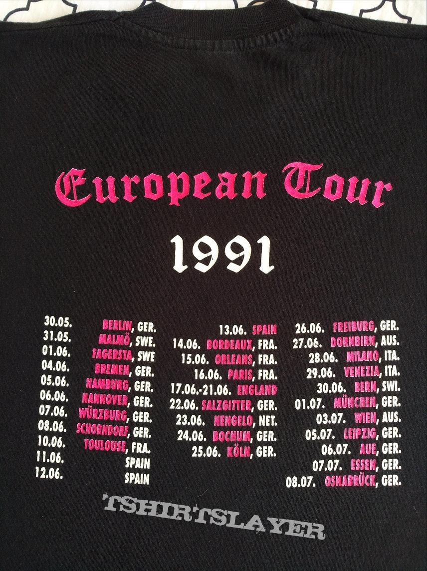 OG Cro-Mags 1991 euro tour longsleeve