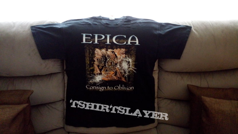 Epica - Consign To Oblivion shirt