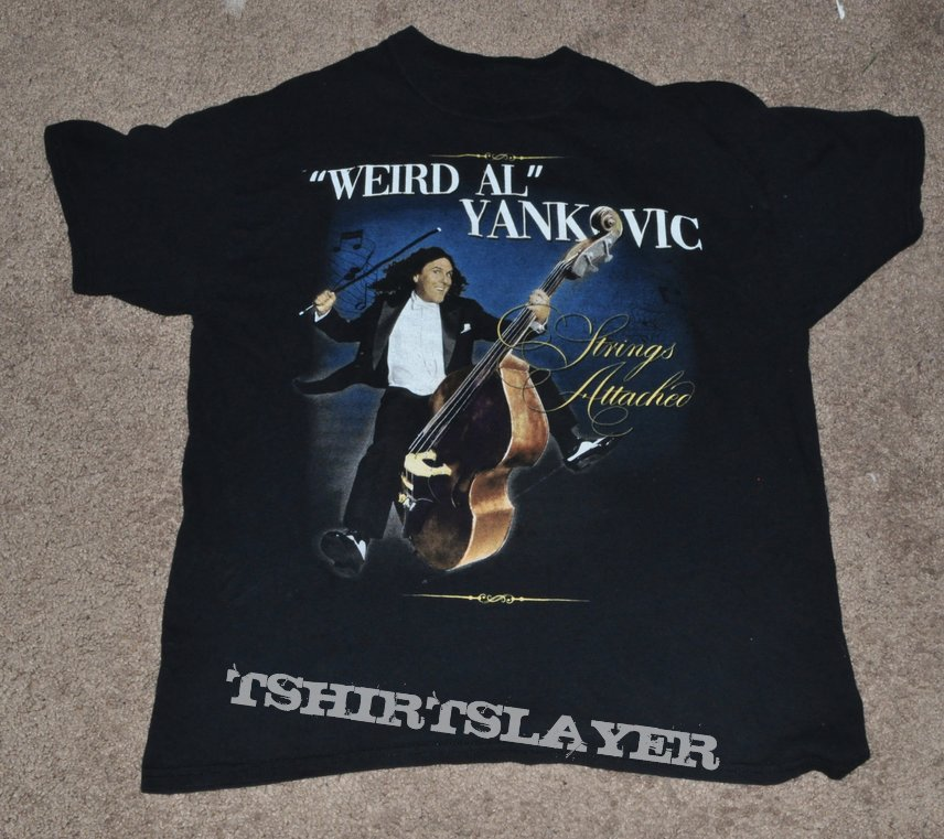 "Weird Al Yankovic ""Strings Attached"" 2019 US Tour Shirt"