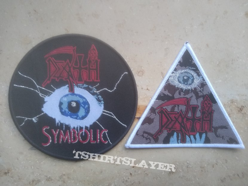 Death - Symbolic Circle and Triangle Patch