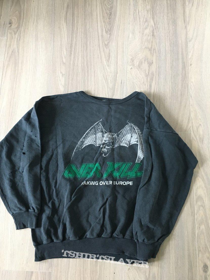 1987 Overkill Tour Sweater!