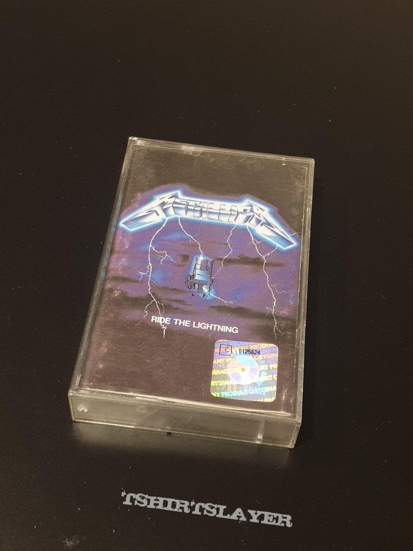 Metallica - Ride the Lightning tape