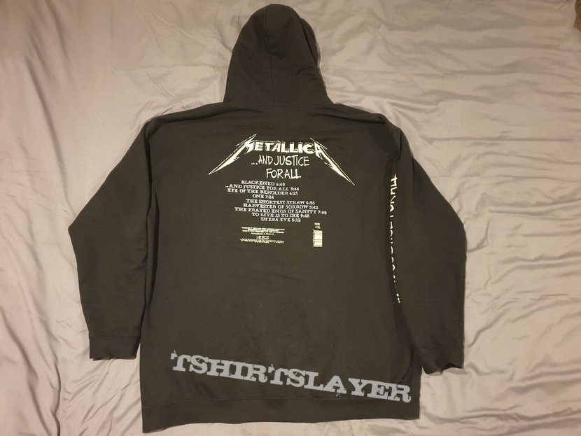Metallica - ...and Justice For All - Hoodie
