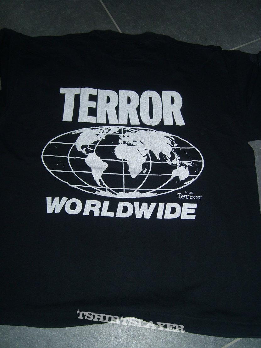 CHARLES MANSON Terror Worldwide shirt