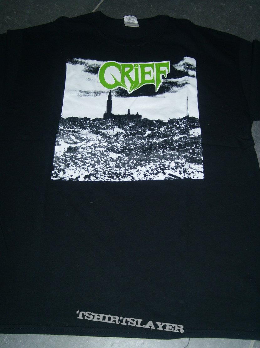 GRIEF green logo shirt