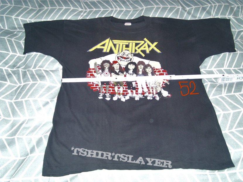 ANTHRAX State Of Euphoria Cartoon shirt