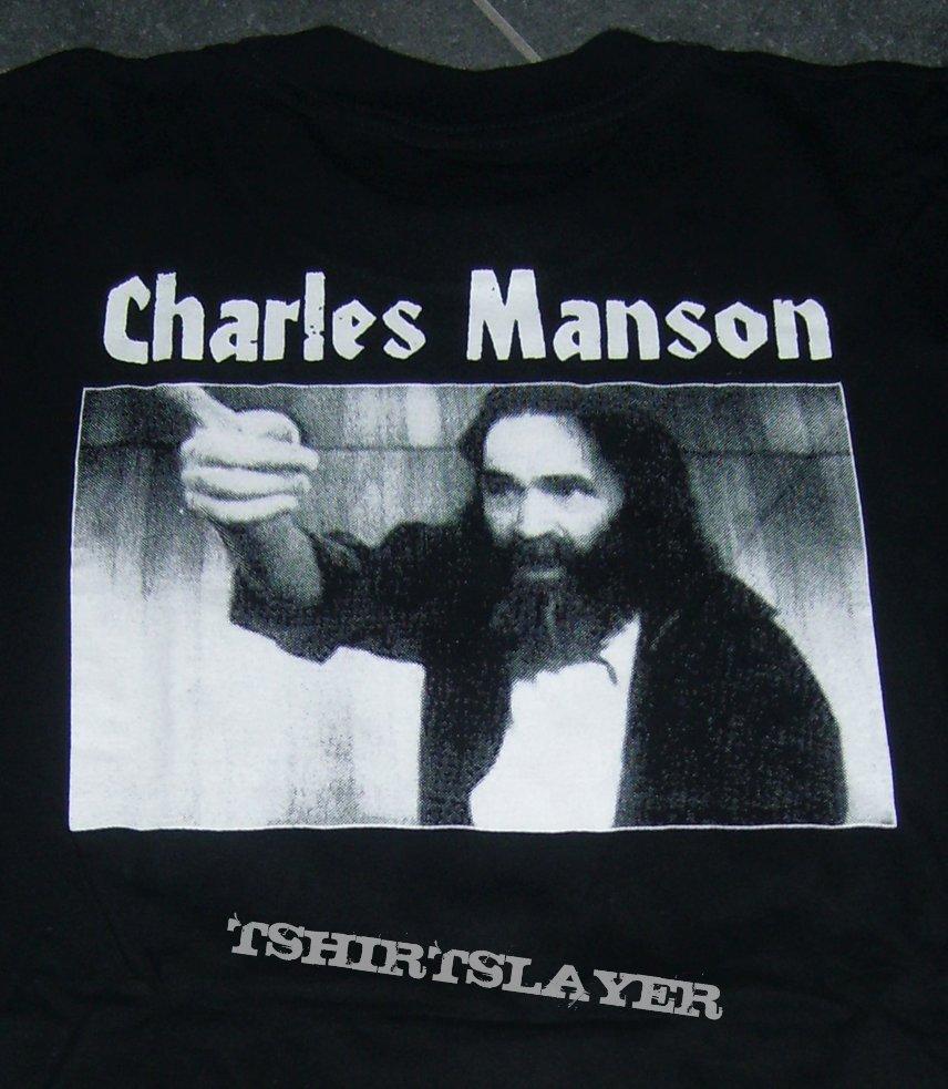 CHARLES MANSON shirt with pocket print