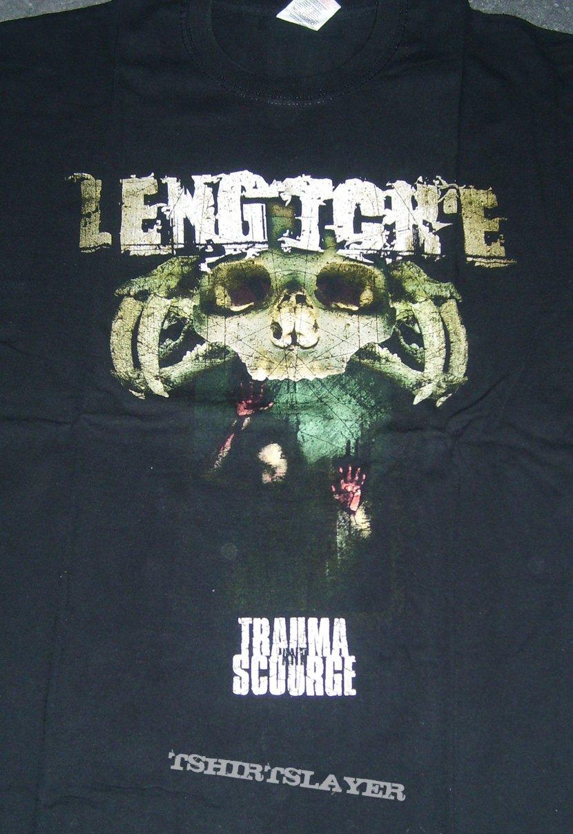LENG TCH'E Trauma and Scourge shirt