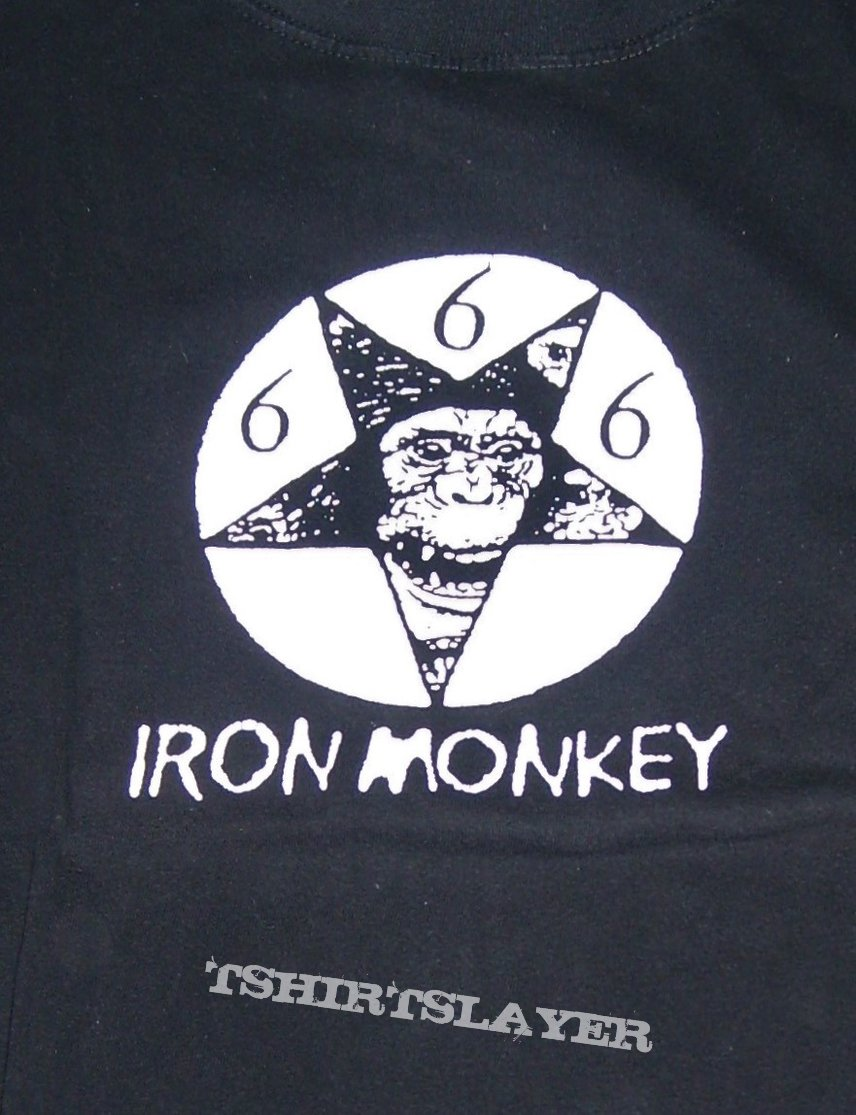 IRON MONKEY Monkeygram shirt