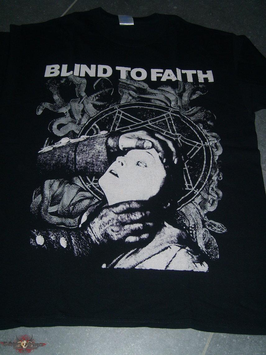 BLIND TO FAITH 'choking' shirt
