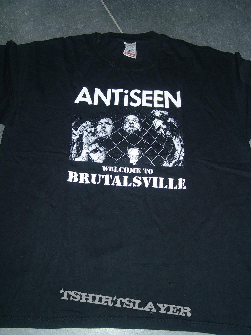 ANTiSEEN 'Brutalsville' Euro 2002 Shirt