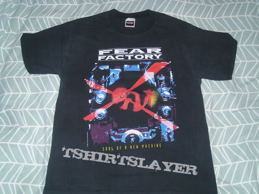 FEAR FACTORY Soul Of A New Machine shirt