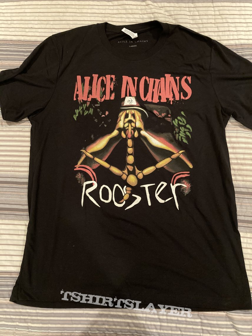 Alice In Chains Rooster T-Shirt Re-issue
