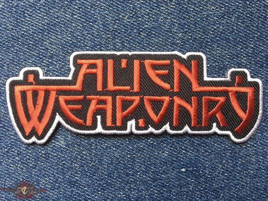 Alien Weaponry official logo patch