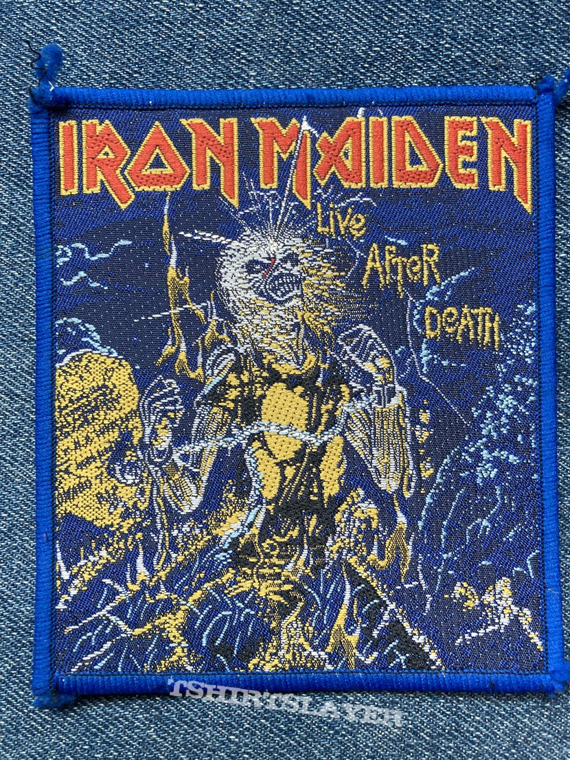 Iron Maiden Live After Death patch