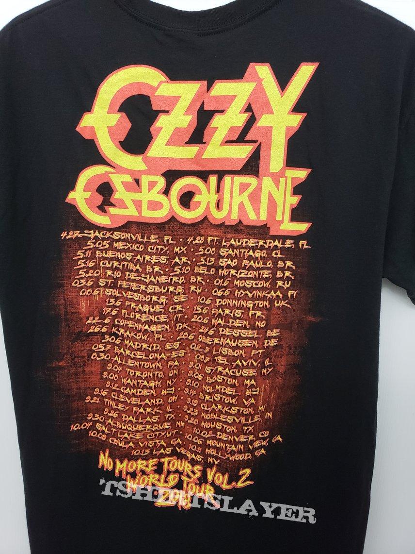 """Ozzy Osbourne """"No More Tours vol. 2""""  2018 Official U.S.Tour Shirt"""