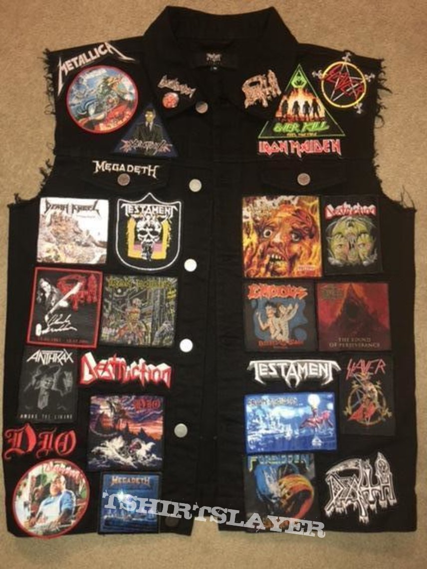My Battle jacket so far