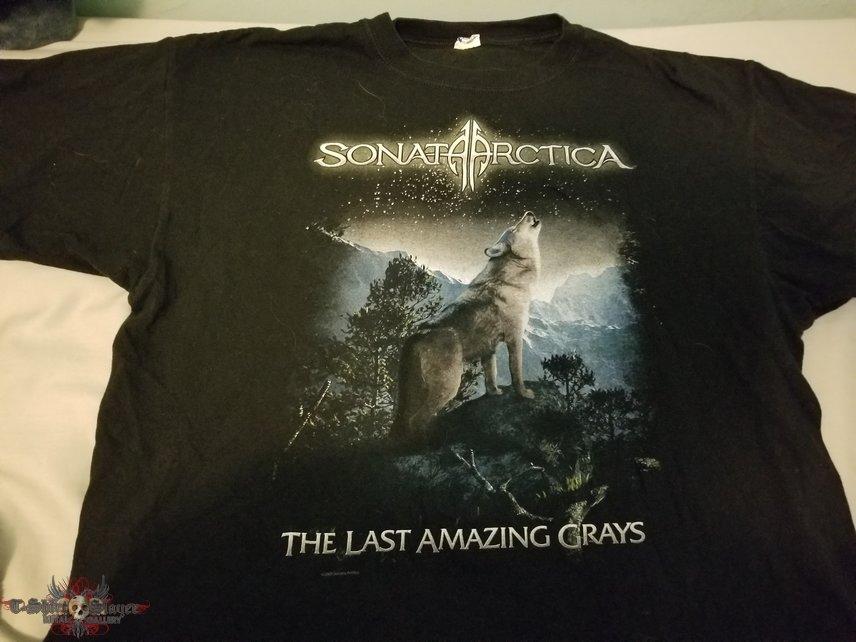 Sonata Arctica - The Last Amazing Grays shirt