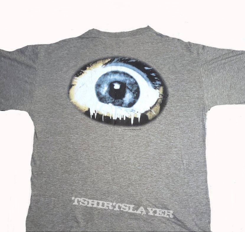 Death Symbolic short sleeve (XL) gray. Printed on Blue Grape. 1995