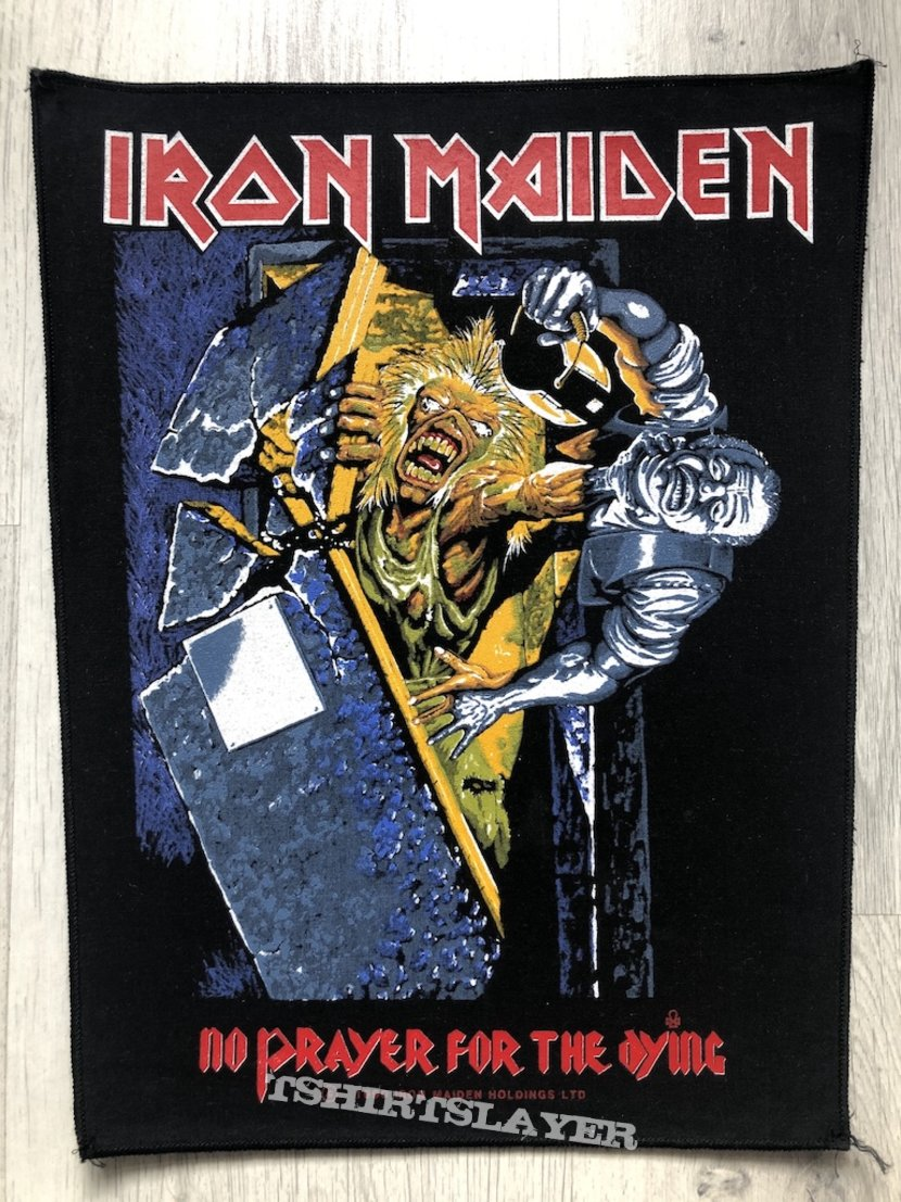 Iron Maiden / No Prayer For The Dying - 1990 IM Holdings LTD Backpatch