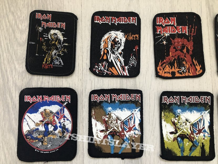 Iron Maiden / 80's printed patches