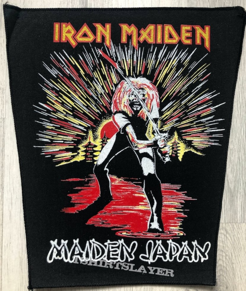 Iron Maiden / Maiden Japan - Backpatch