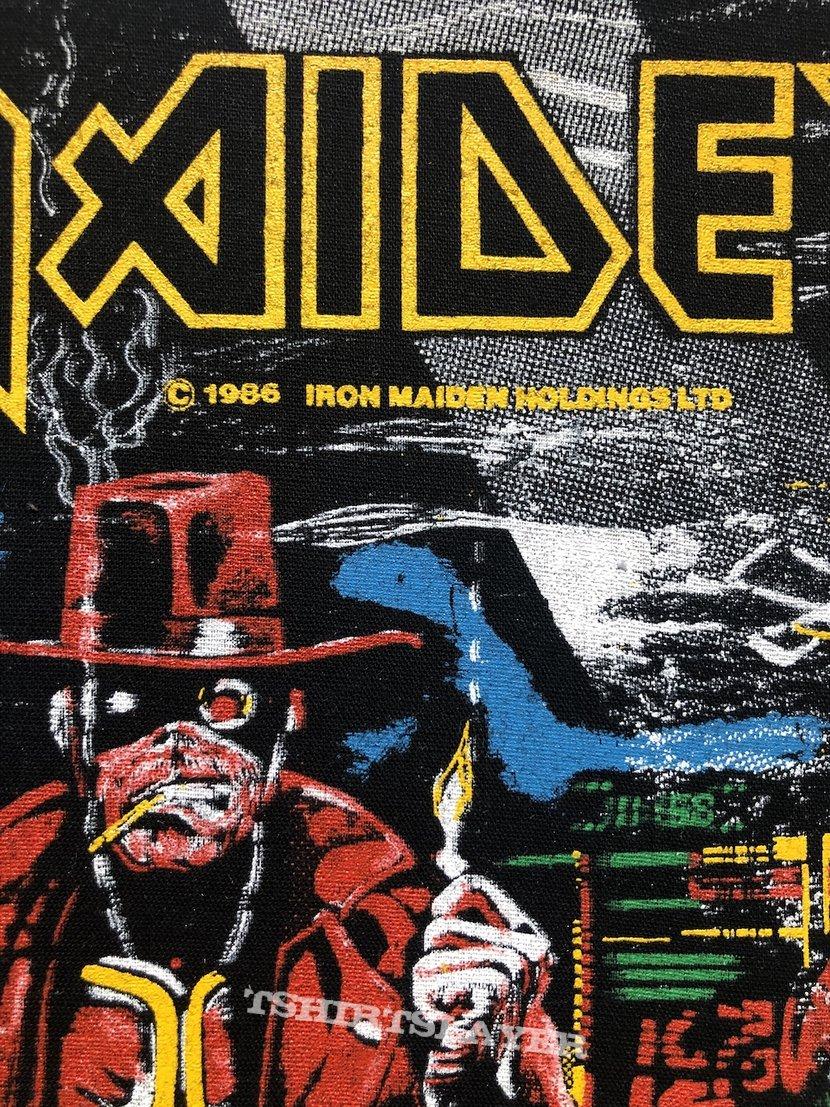 Iron Maiden / Stranger In A Strange Land - 1986 IM Holdings LTD Backpatch