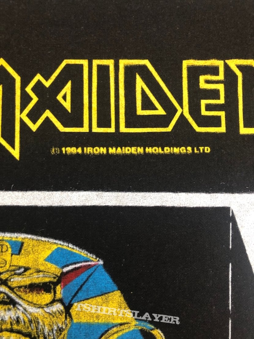 Iron Maiden / Powerslave - 1984 IM Holdings LTD Backpatch
