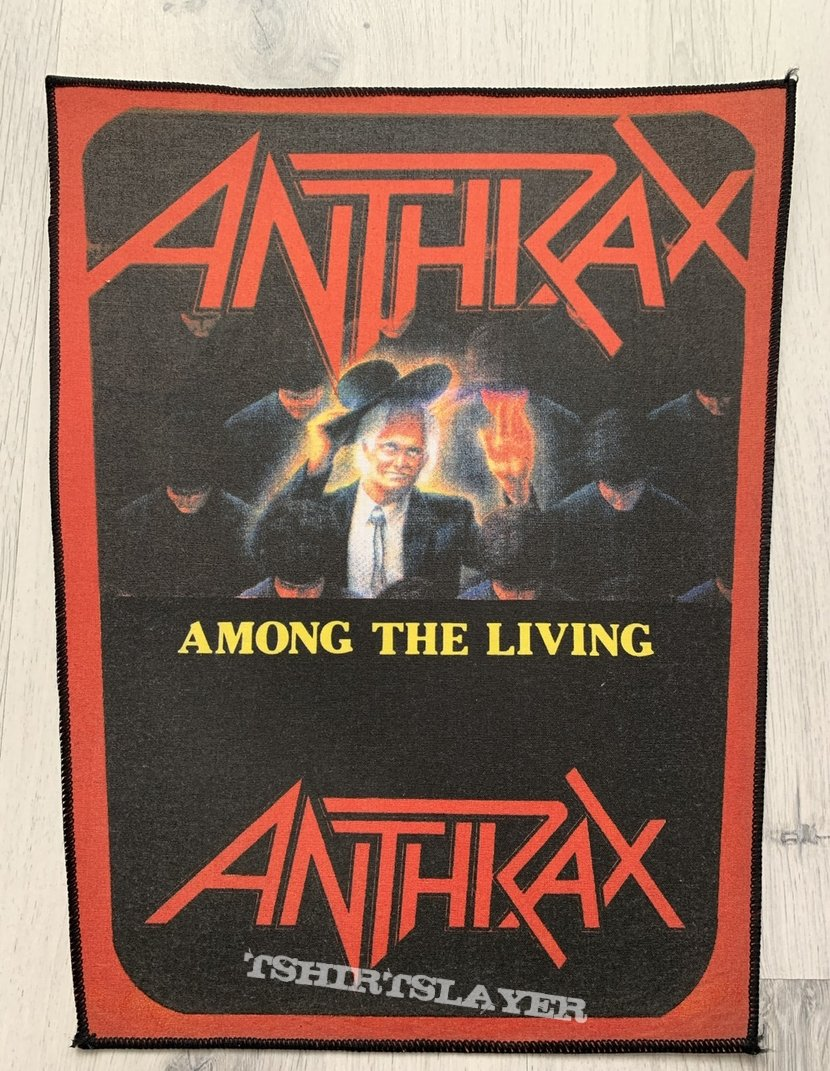 Anthrax / Among The Living - Red Backpatch