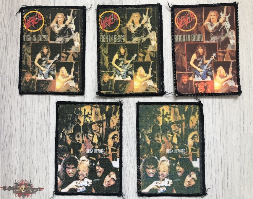 Slayer / Reign in Blood - Photo Patches