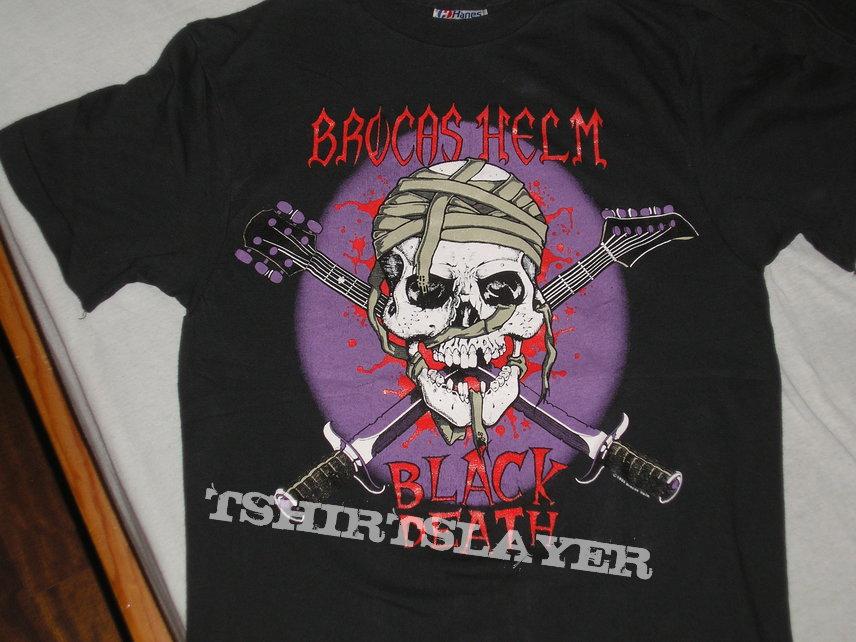 original BROCAS HELM Black Death shirt 1989