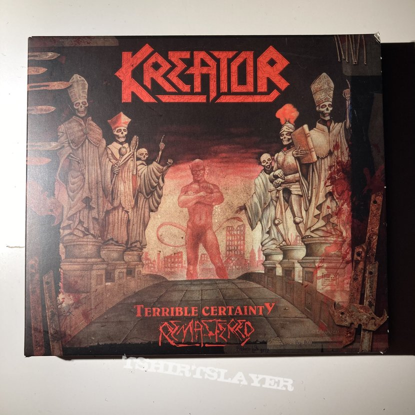 Kreator - Terrible Certainty + Out of the Dark... Into the Light CD